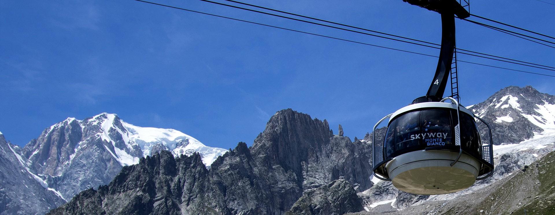 Panorama Helbronner – 3466 m