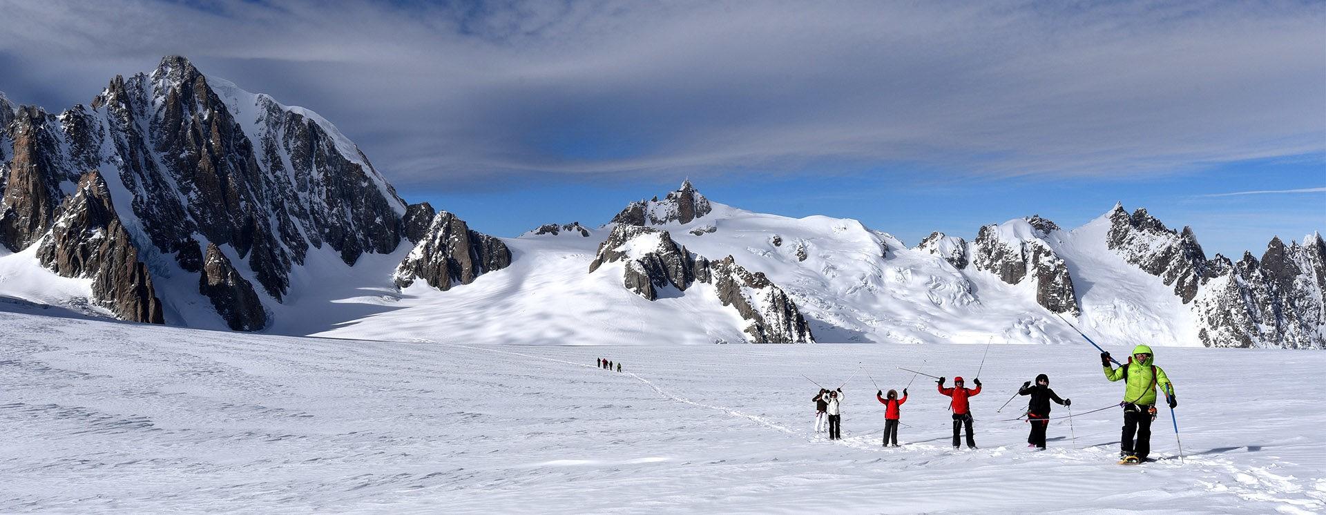 Randonnée Col du Géant – 3 466 m