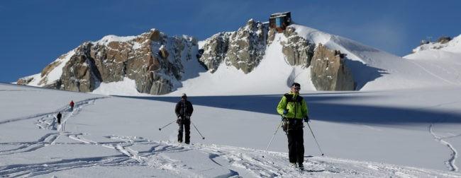 Journée ski hors-piste