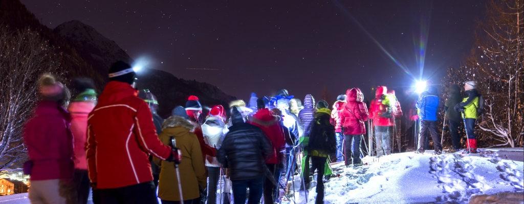 soiree-trappeurs-hiver-chamonix-mont-blanc nocturne